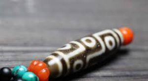 Nine eyed dzi bead amulet - เครื่องรางนำโชค – วิธี ใช้ – ราคา – Thailand